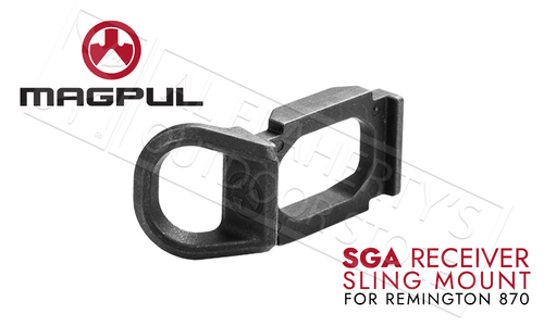 Magpul SGA Stock Receiver Sling Mount for Remington 870 Shotguns #MAG507BLK