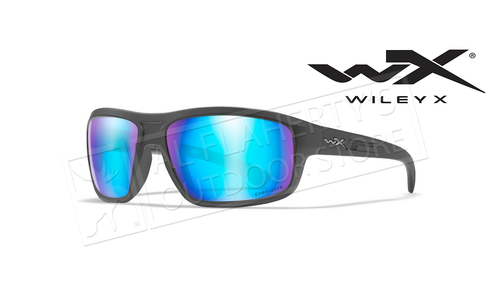 Wiley X Captivate Polarized Blue Mirror/Matte Graphite #ACCNT09