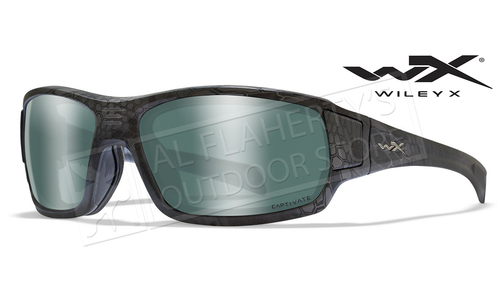 Wiley X Captivate Polarized Platinum Flash/Krpytek Typhon #CCBRH12