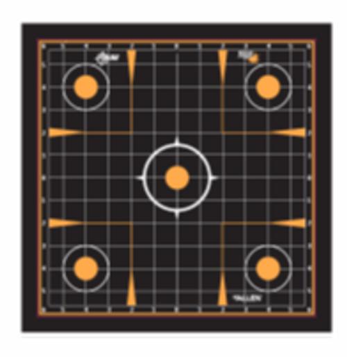 """Allen EZ See Adhesive Grid Target, 12"""" x 12"""", Pack of 5 #15314"""