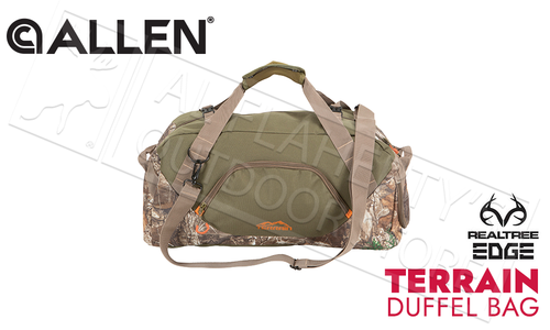 Allen Terrain Duffel Bag in Realtree EDGE Camo - 43L #19213