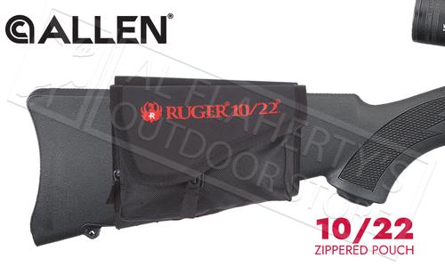 Allen Ruger 10/22 Buttstock Pouch #27222