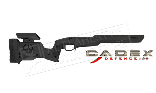 Cadex Defence Strike Nuke Evo Stock for Tikka T3 SA, for Accu-Mag Magazine #STKNUK-TIK-RH-SA Black