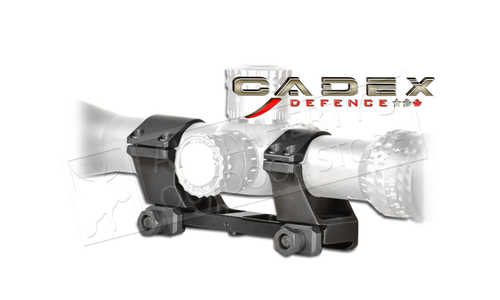 Cadex Defence Scope Ring Base, Dia. 30mm Height: 1.500 (High) #1552-B30H