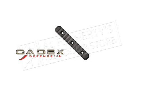 Cadex Defence M-LOK 5 Inch Modular Picatinny Rail #03127A017ML