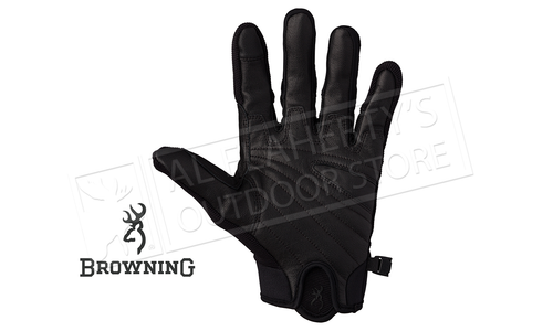 Browning Ace Shooting Gloves, Black M - XL #307020990