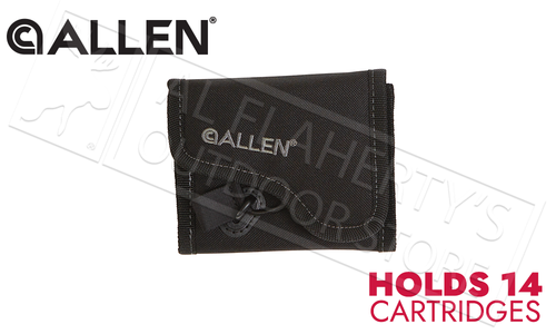Allen Ammo Pouch for Rifle Cartridges- Black #17651