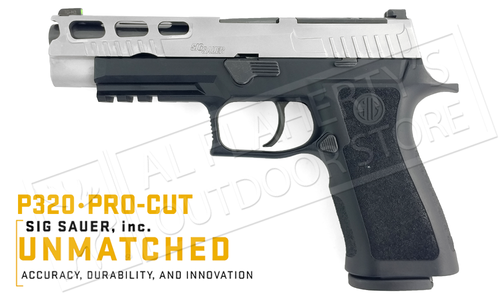 SIG Sauer P320 Pro-Cut Pistol with XSeries Carry Grip Module #SIGL320XF-9-BXR3-PR
