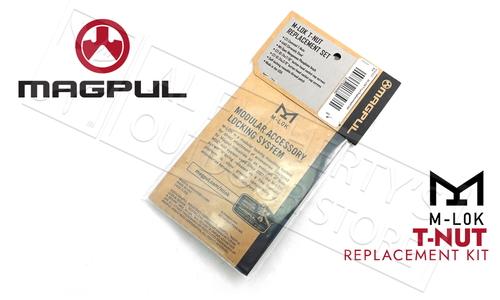 Magpul M-LOK T-Nut Replacement Set #MAG615-BLK