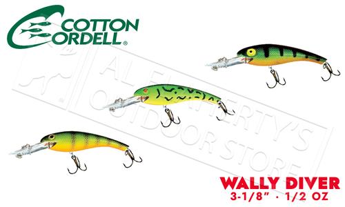 """Cotton Cordell Wally Diver - 3/18"""" 1/2 oz #CD6"""