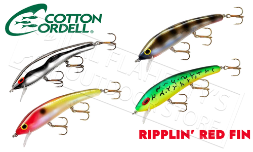 Cotton Cordell Ripplin' Red Fin Crank Bait #C85