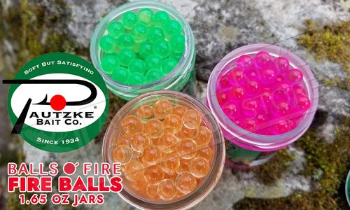 Pautzke Bait Co. Fire Balls #PFBLS