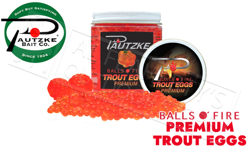 Pautzke Bait Co. Premium Real Trout Eggs #PTRT/PREM