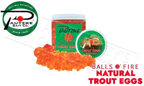 Pautzke Bait Co. Natural Balls O'FireTrout Eggs #PTRT/NAT