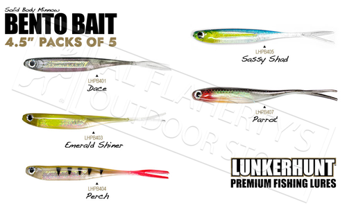 """Lunkerhunt Bento Minnow 3/"""" Fishing Lure 6-Pack CHOOSE YOUR COLOR"""