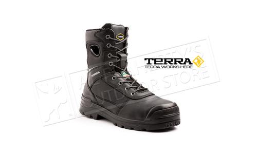 Terra  8 In Pilot Work Boot CT WP FP ESR CSA Black #TR103002BLK