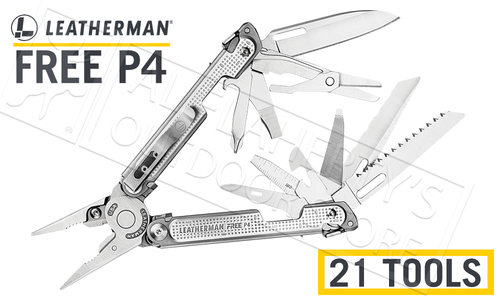 Leatherman MultiTool Free P4 #832642