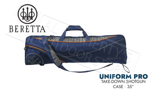 "Beretta Uniform Pro Soft Take Down Case 35"" Evo Blue #FO501T1932054VUNI"