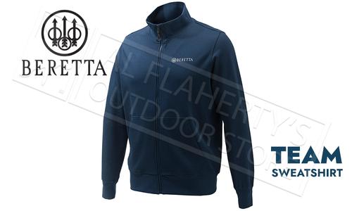 Beretta Team Sweatshirt Totoal Eclipse Blue #FU261T10980504