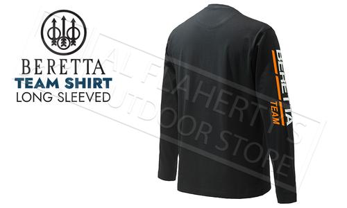 Beretta T-Shirt Team Long Sleeve in Black #TS482T15570999