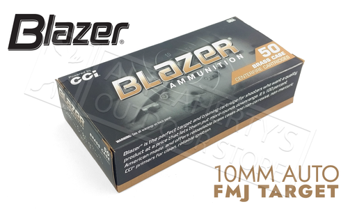 CI Blazer 10mm 180 Grain 50 Rounds #5221