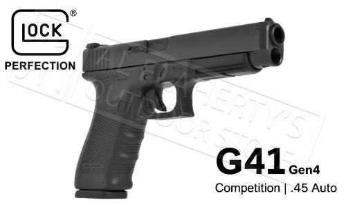 Glock 41 Gen4 45ACP Competition Pistol