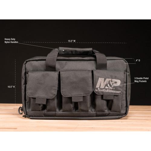 M&P Pro Tac Handgun Case, Double $110029