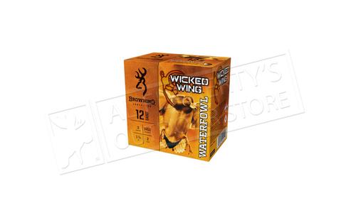 "Browning Ammo Wicked Wings Waterfowl Steel Shot Shells 12 Gauge 3"" 1-1/4 oz Box of 25 #B19342123"