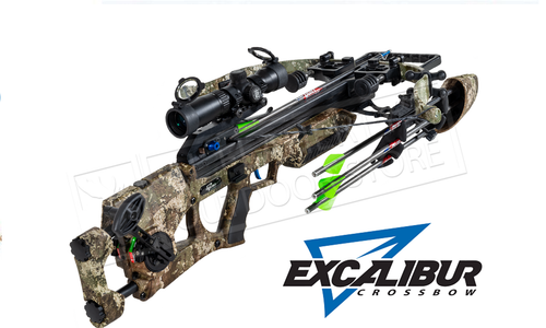 Excalibur Assassin 360 Strata Crossbow True Timber Strata with Tac Zone Scope#E73367