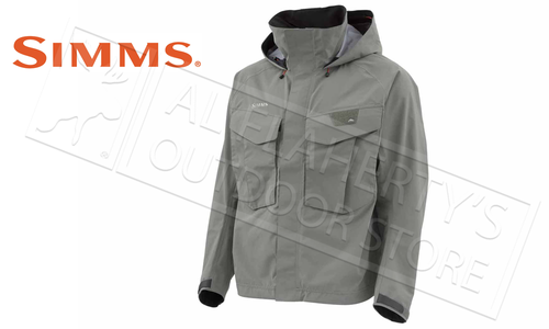 Simms Men's Freestone Jacket, Striker Grey #12164-023