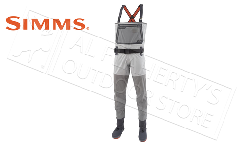 Simms Men's G3 Guide Stocking Foot Wader, Steel Grey #12199-255