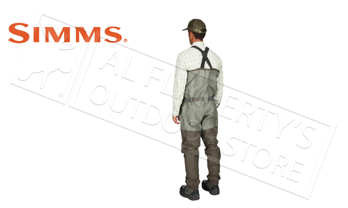 Simms Men's Freestone Stocking Foot Wader, Dark Gunmetal #12569-014