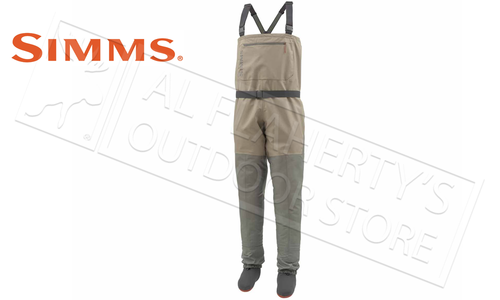 Simms Men's Tributary Stocking Foot Wader, Tan #12599-276
