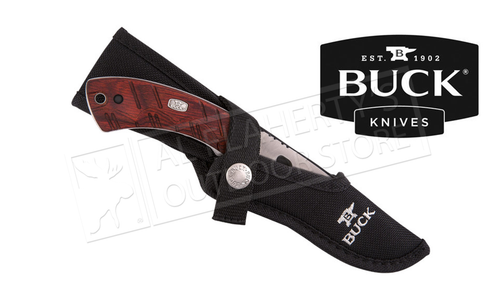 Buck Knives 536 Open Season Skinner Knife with Gut Hook & Sheath #536RWG-B