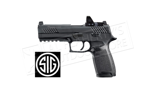 SIG Sauer Handgun P320 RXP Full-Size 9mm with ROMEO1 Pro Optic #320F-9-B-RXP-10