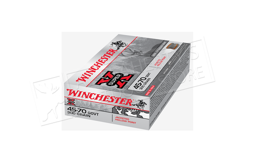 Winchester 45-70 Govt Jacketed Hollow Point 300 Grain #X4570H