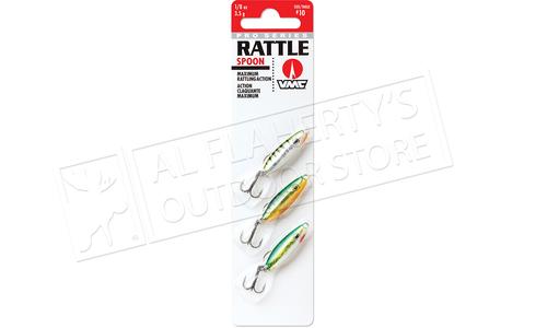 VMC Pro Series Rattle Spoon Live Kit, 1/16 oz. Size 12 Hooks Pack of 3 #RTS116L3