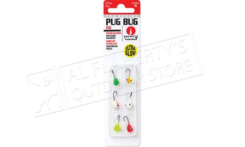 VMC Pro Series Pug Bug Jig Kit, 1/32 oz. Size 10 Hooks Pack of 6 #PBJ132G6
