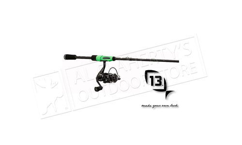 "13 Fishing Code Black Spinning Combo 6'6"" #CBSC66M-2"