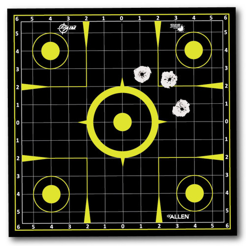 Allen EZ Aim Pull-N-Shoot Splash 12x12 Sighitng Target #15257