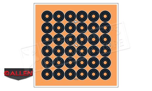 """Allen EZ Aim Adhesive Splash 1"""" Bulleseye Target #15250"""