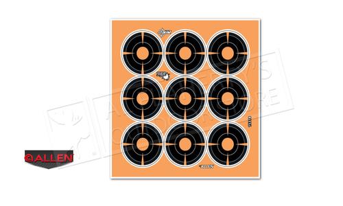 "Allen EZ Aim Adhesive Splash 2"" Bulleye Target #15318"