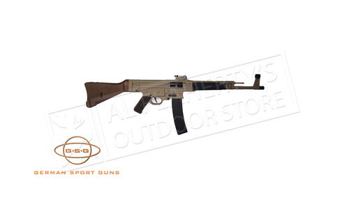 "GSG Rifle ""Schmeisser"" STG-44 Tan 22 LR #R03GSGSTG44"