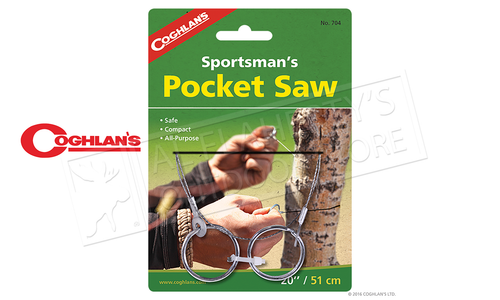 "Coghlans Sportsman's Pocket Saw, 20"" #704"