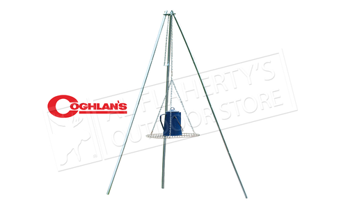 "Coghlan's Tri-Pod Grill with Lantern Hanger, 17"" Diameter #9340"