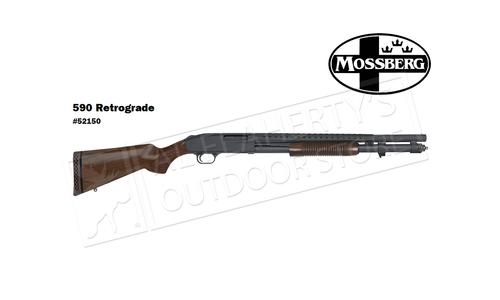 "Mossberg 590A1 Retrograde Shotgun - 12 Gauge 20"" Barrel 9-Shot  #52150"