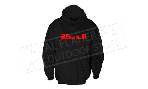 Benelli Hoodie in Black, Sizes Medium to Xx large #BENHOOD999