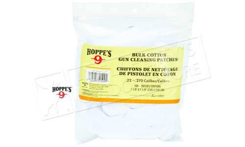 Hoppe's Cleaning Patches .38 - .45 Cal, .410-20 G #1204