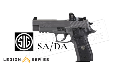 SIG Sauer Handgun P226 Legion RXP SA/DA 9mm with ROMEO1 Pro Reflex Sight #E26R-9-LEGION-RXP