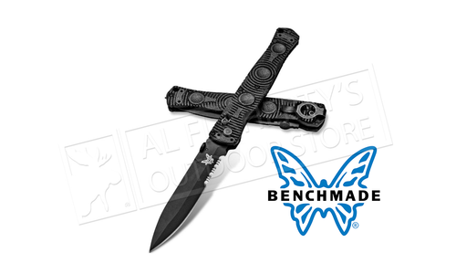 Benchmade SOCP Axis Glass Breaker Folding Knife #391SBK